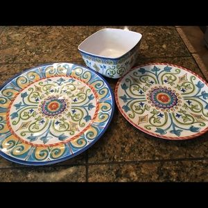Bed Bath \u0026 Beyond Other - Final final✂ 🍋Spanish Melamine Dinner Plate Set & Bed Bath \u0026 Beyond Other | Final Finalspanish Melamine Dinner Plate ...